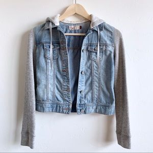 Extra small denim jacket